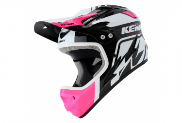 Casco Int  Gral Kenny Down Hill Graphic Rosa   Negro   Blanco Xl  61 62 Cm