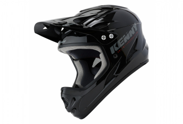 Kenny Down Hill Solid Int gral Helmet Black