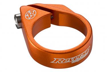 Collier de Selle à vis Reverse 34.9 mm Orange