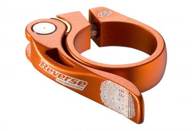 Collier de Selle Reverse Long Life 34.9 mm Orange