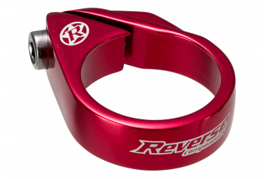 Collier de Selle à vis Reverse 31.8 mm Rouge
