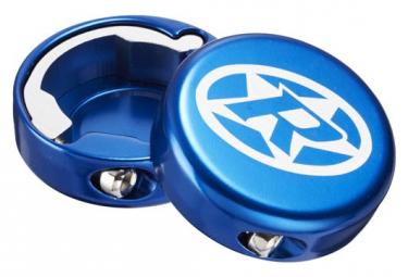 Tapas Azules Inversas Con Cerradura De Aluminio