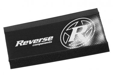 Reverse Chainstay Protector Neoprene Black/Red
