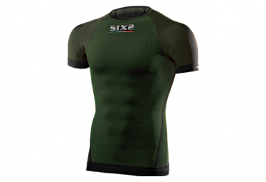 Image of Sous maillot manches courtes sixs ts1 vert fonce l