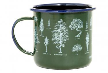 United by Blue Evergreen Enamel Steel Mug 650 ml (22 oz.) Green