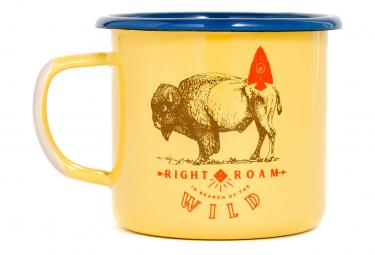 United by Blue Right To Roam Enamel Steel Mug 350 ml (12 oz.) Yellow