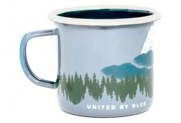 United by Blue Deer Enamel Steel Mug 350 ml (12 oz.) Grey