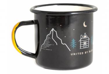 United by Blue Lets Get Lost Enamel Steel Mug 350 ml (12 oz.) Black