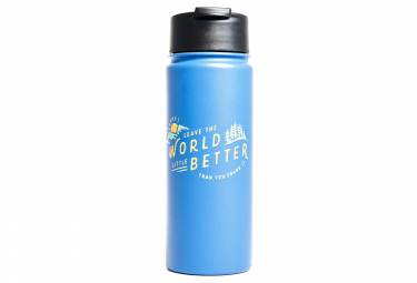 United by Blue Found 470 ml (16 oz.) Insulated Bottle Blue