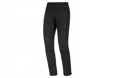 Mammut Courmayeur Softshell Pants Black Women