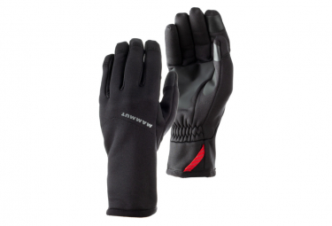 Mammut Winter Gloves Fleece Pro Black S