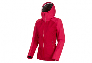 Mammut Waterproof Jacket Convey Tour Hardshell Pink Women