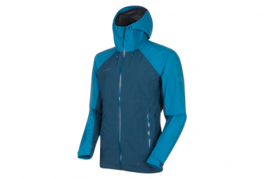 Mammut Convey Tour Hardshell Waterproof Jacket Blue