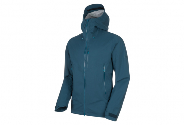 Mammut Waterproof Jacket Kento Hardshell Blue
