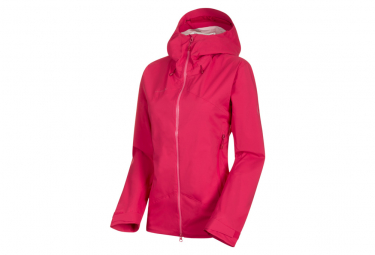 Mammut Waterproof Jacket Kento Hardshell Pink Women