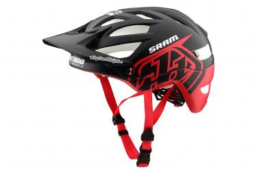 Troy Lee Designs A1 Classic Sram Mips MTB Helmet Matte Black Red