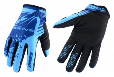 Pair of Blue Kenny Brave Child Gloves