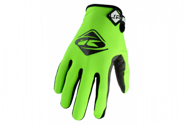 Pair of Fluo Yellow Kenny Up Gloves