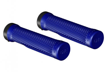 Paire de Grips OneUp Lock-On Bleu
