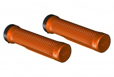 Paire de Grips OneUp Lock-On Orange