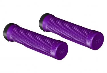 Puños OneUp Lock-On - purple black