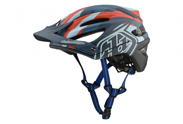 Casco MTB Troy Lee Designs A2 Jet Mips Matte Clay Blue