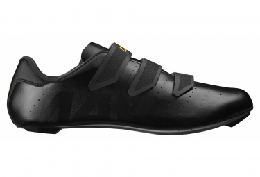 Black Mavic Cosmic Road Shoes