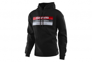Sweat à Capuche Troy Lee Designs Sram TLD Racing Block Noir