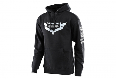 Troy Lee entwirft Sram Racing Icon Hoodie Sweat Black
