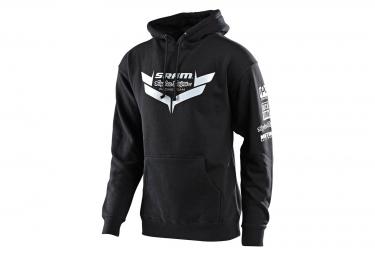Sweat à Capuche Troy Lee Designs Sram TLD Racing Icon Noir