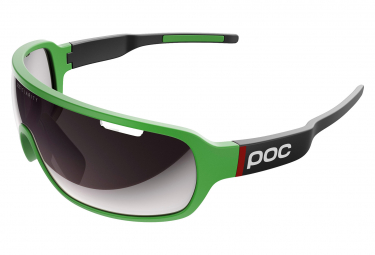 Poc DO Blade Clarity Sonnenbrille Cannondale Green / Violet Silver Mirror