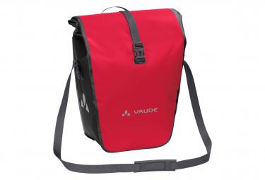 Rear Bike Bag (pair) Vaude Aqua Back Red
