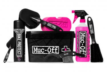 MUC-OFF Kit   Bac de Nettoyage / 8 Eléments