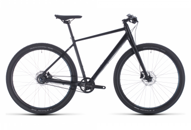 Cube Hyde Pro Sports City Bike 29'' Noir / Bleu