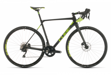 Cube Cross Race C:62 Pro Cyclocross Bike Shimano Ultegra 11S 700 mm Carbon Grey Neon Green 2020