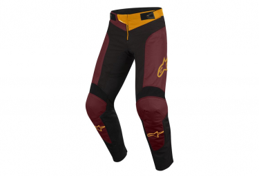 Alpinestars Vector Kids Pants Anthracite / Bordeaux