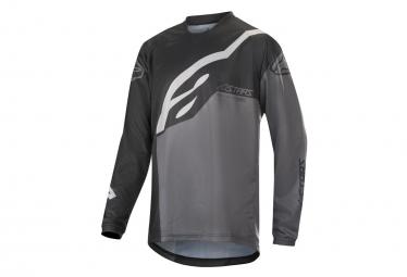 Alpinestars Racer Factory Long Sleeve Kids Jersey Black / Gray