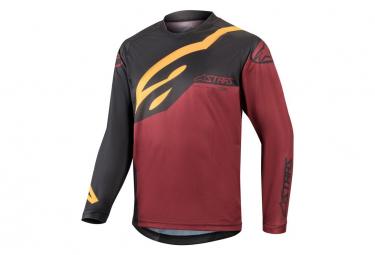 Alpinestars Racer Factory Kids Long Sleeve Jersey Anthracite / Brown