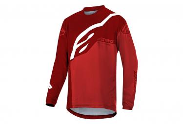 Alpinestars Racer Factory Jersey Rojo De Manga Larga Para Ninos Kid Xl