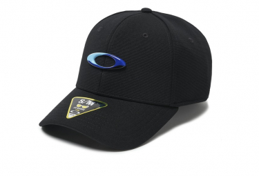 Oakley Hat 6 Panel Stretch Black Tincan Hat