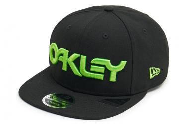 Oakley Hat 6 Hat Black / Green