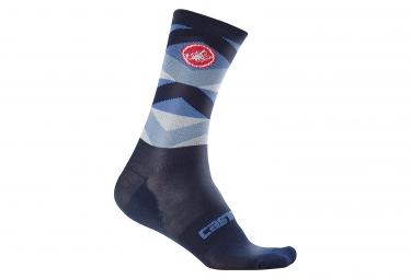 Castelli Fatto 12 Socks Blue