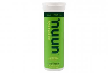 Nuun Lemon 10 Effervescent Tabs 52g