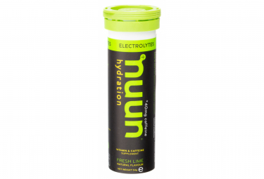 10 tabletas efervescentes Nuun Boost Caf ine Red Fruits 52g