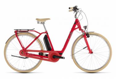 Bicicleta Ciudad Eléctrica Cube Elly Cruise Hybrid 400 EE 700 Rouge