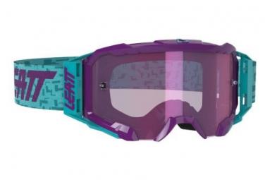Leatt Velocity 5 5 Iriz Aqua Blue Mask   Pantalla Purpura Purpura 78