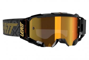 Masque Leatt Velocity 5.5 Iriz Noir - Ecran bronze 22%