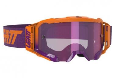 Leatt Velocity 5 5 Iriz Orange Neon Mask   Pantalla Purpura Purpura 78