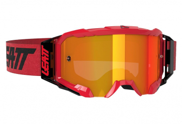 Leatt Velocity 5.5 Iriz Red Mask - Roter Bildschirm 28%