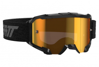 Leatt Velocity 4.5 Iriz Black Mask - Bronze screen 22%